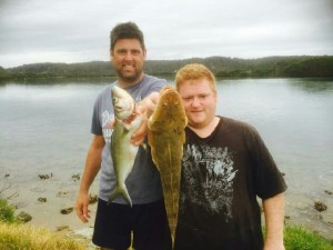 Flathead Fishing at Wallaga Lakes